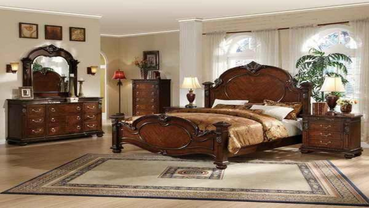 traditional bedroom furniture sets photo - 10