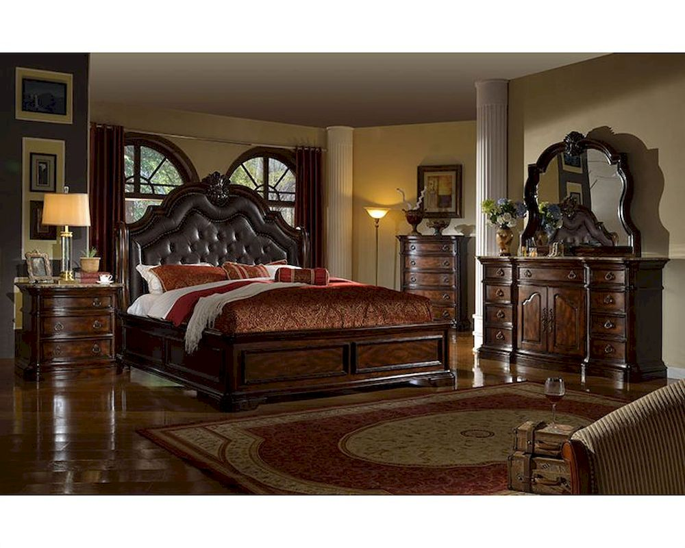 traditional bedroom furniture sets photo - 3