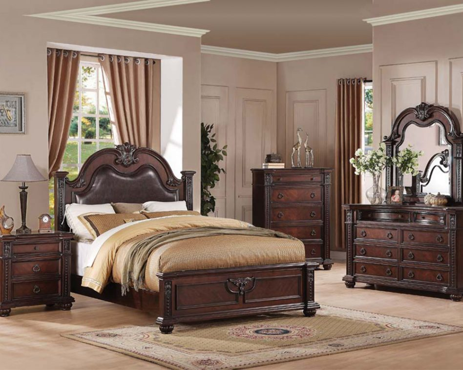 traditional bedroom furniture sets photo - 5
