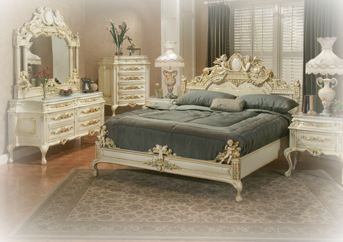 traditional bedroom furniture sets photo - 6