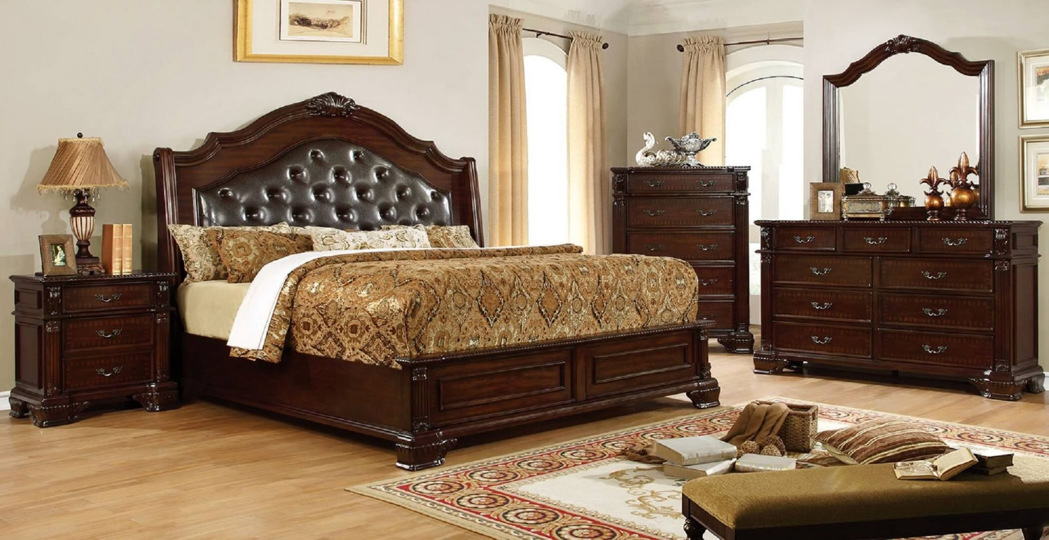 traditional bedroom furniture sets photo - 9