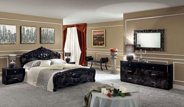 traditional contemporary bedroom sets photo - 9