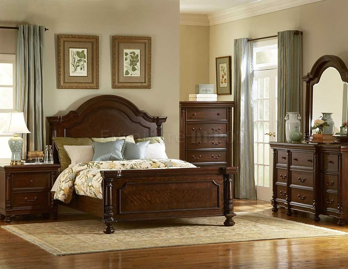 traditional designer bedroom furniture photo - 3