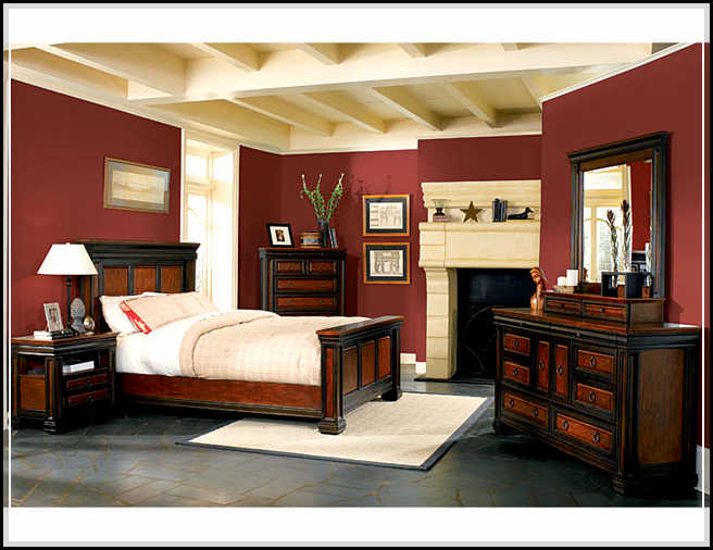 traditional designer bedroom furniture photo - 9