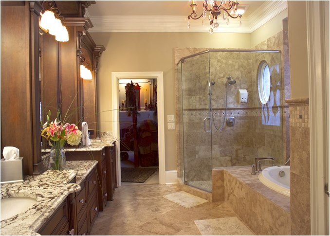traditional home bathroom ideas photo - 3