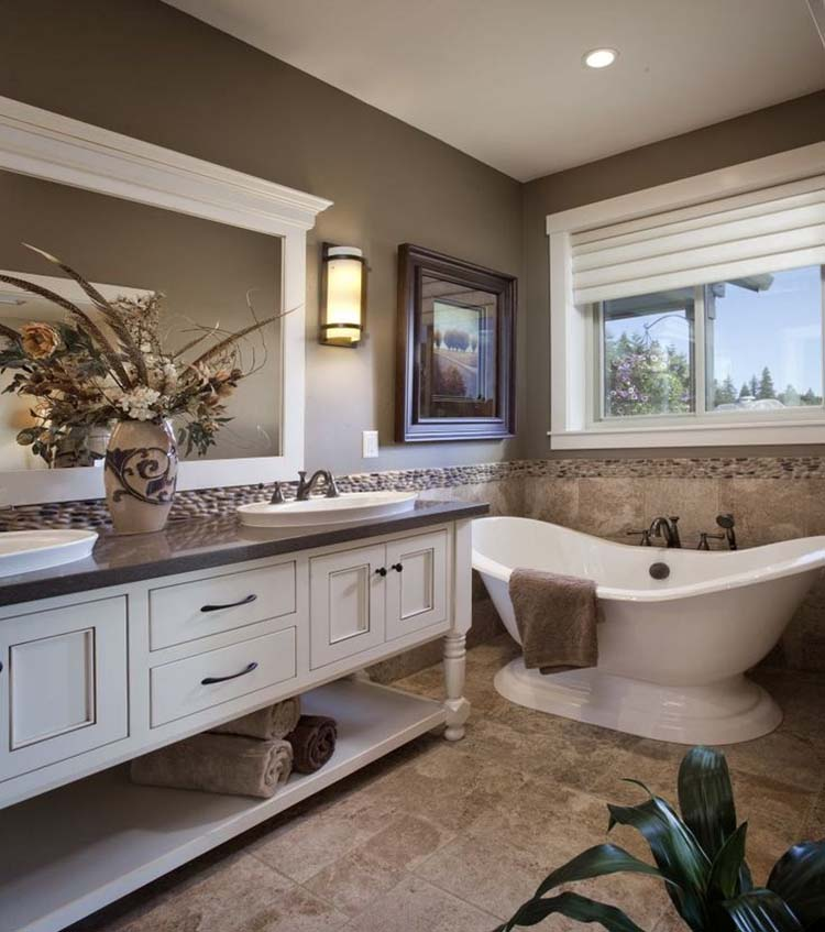 traditional home bathroom ideas photo - 7