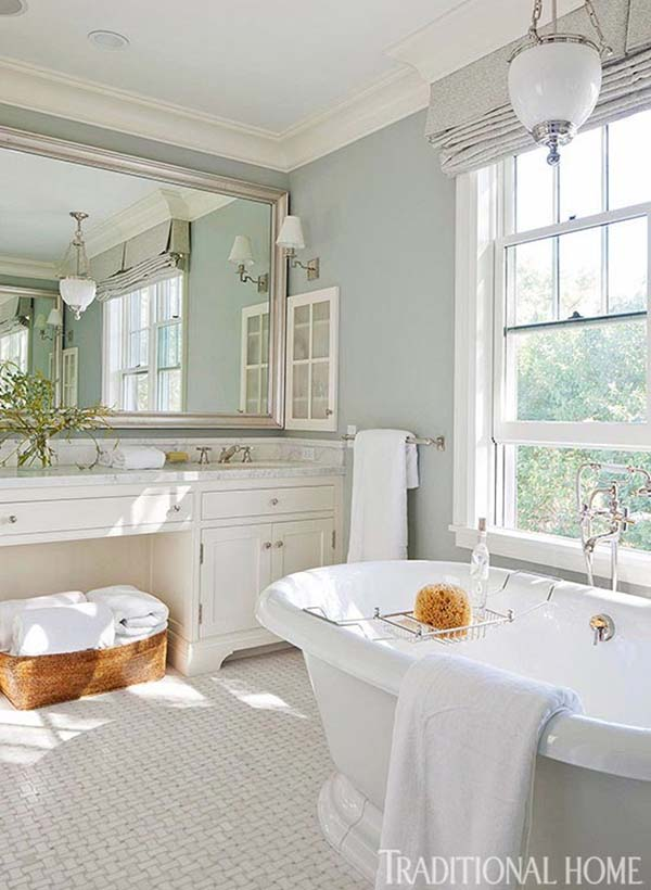 traditional home bathroom ideas photo - 9