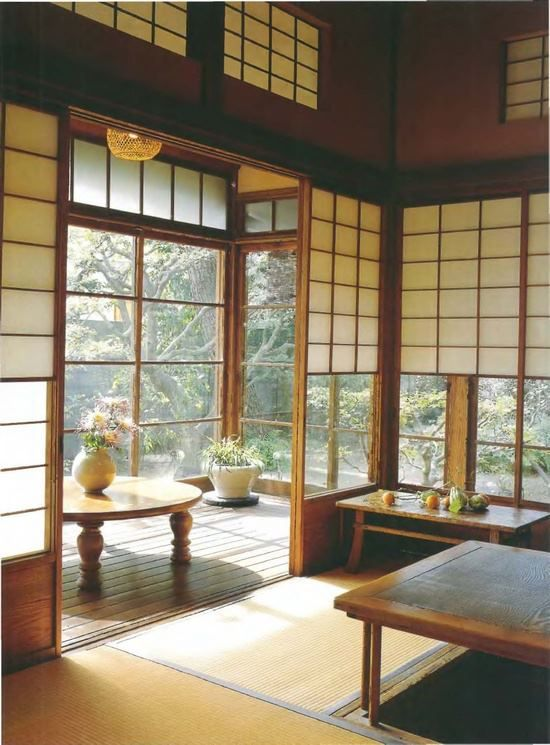 traditional japanese house interior photo - 10