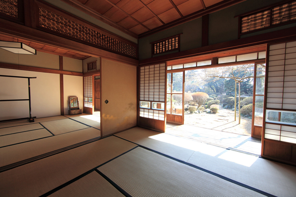 traditional japanese house interior photo - 3