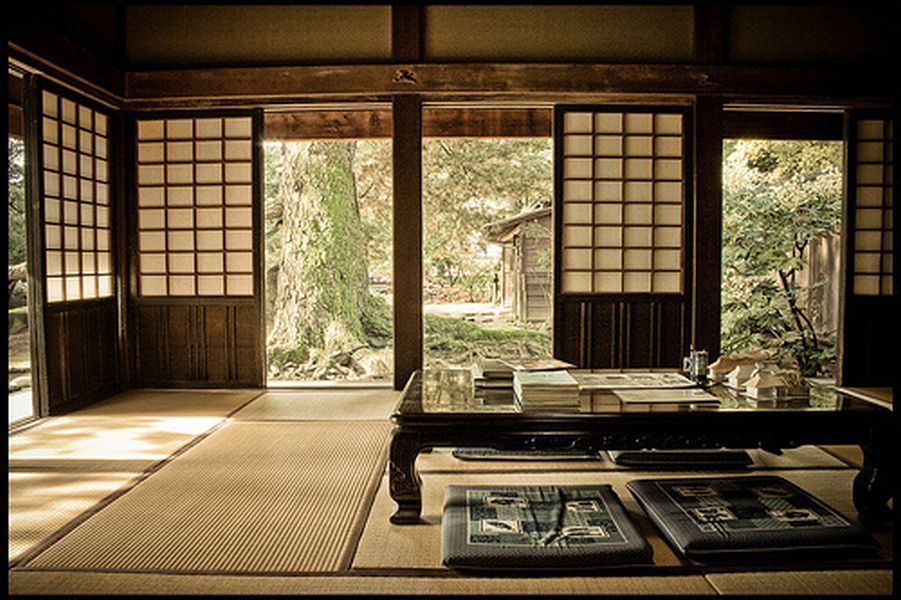 traditional japanese house interior photo - 5