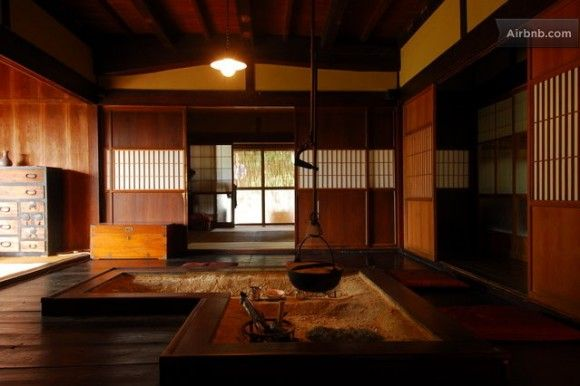 traditional japanese house interior photo - 6
