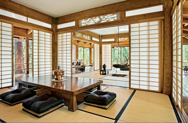 traditional japanese house interior photo - 8