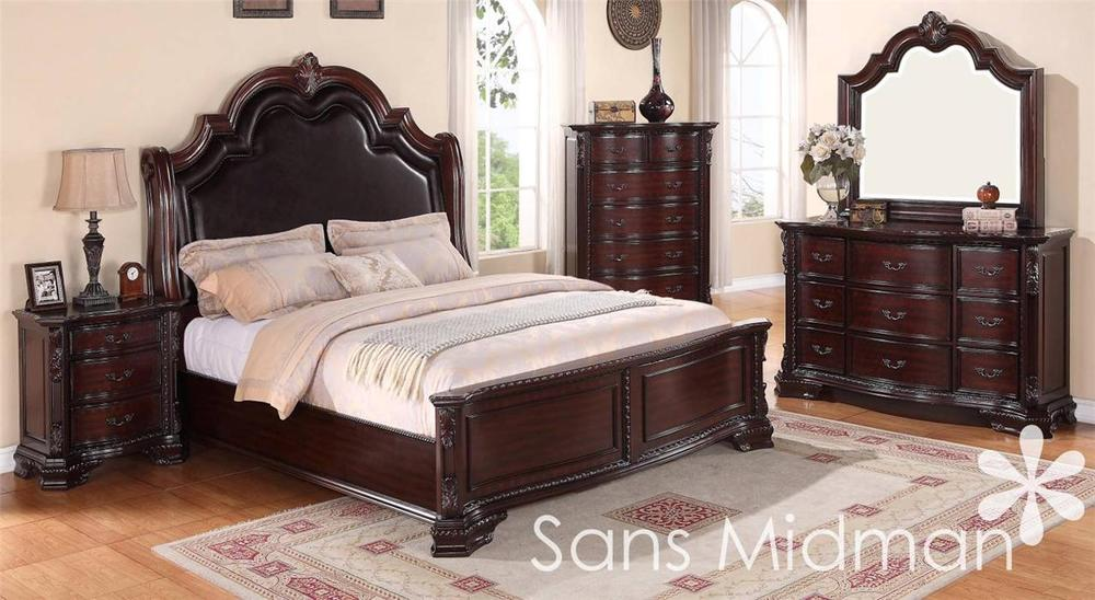 traditional queen bedroom sets photo - 1