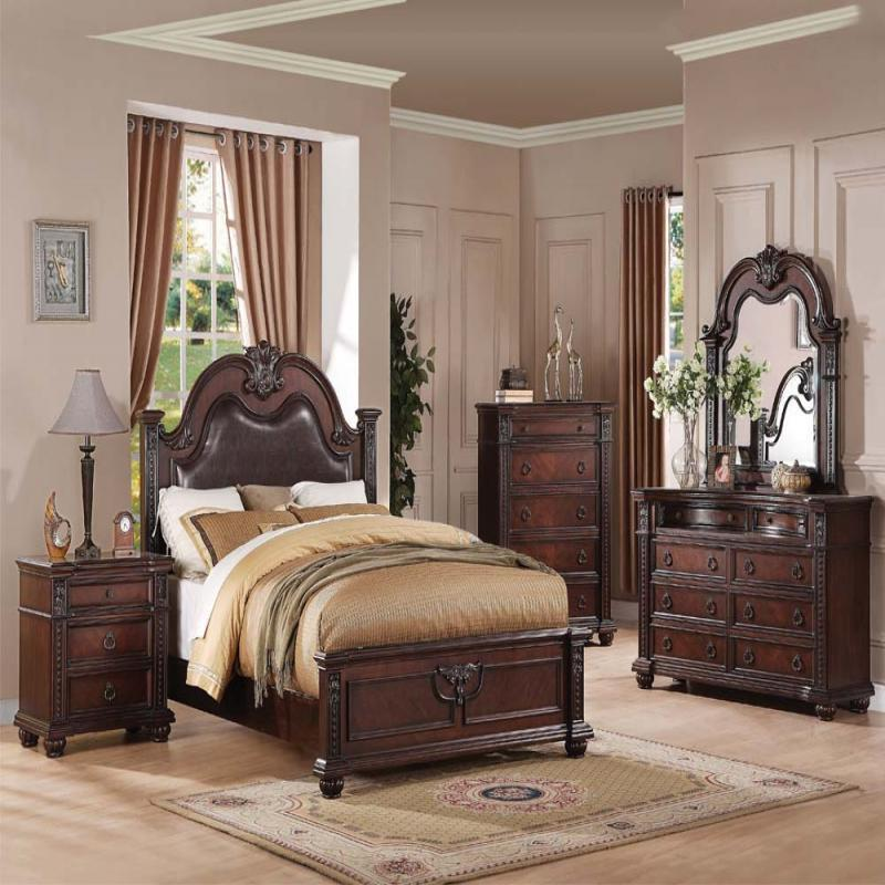 traditional queen bedroom sets photo - 3