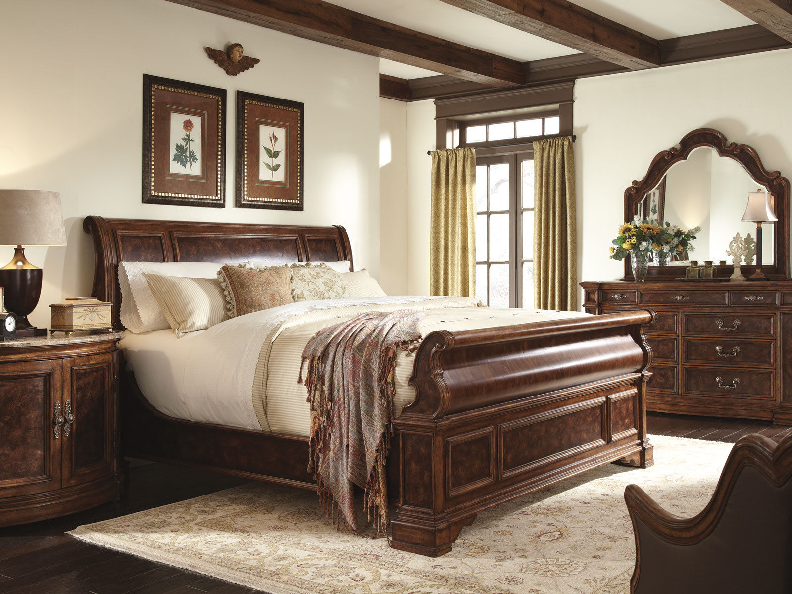 traditional queen bedroom sets photo - 9