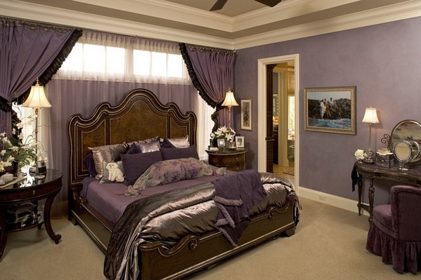 traditional romantic bedroom photo - 3
