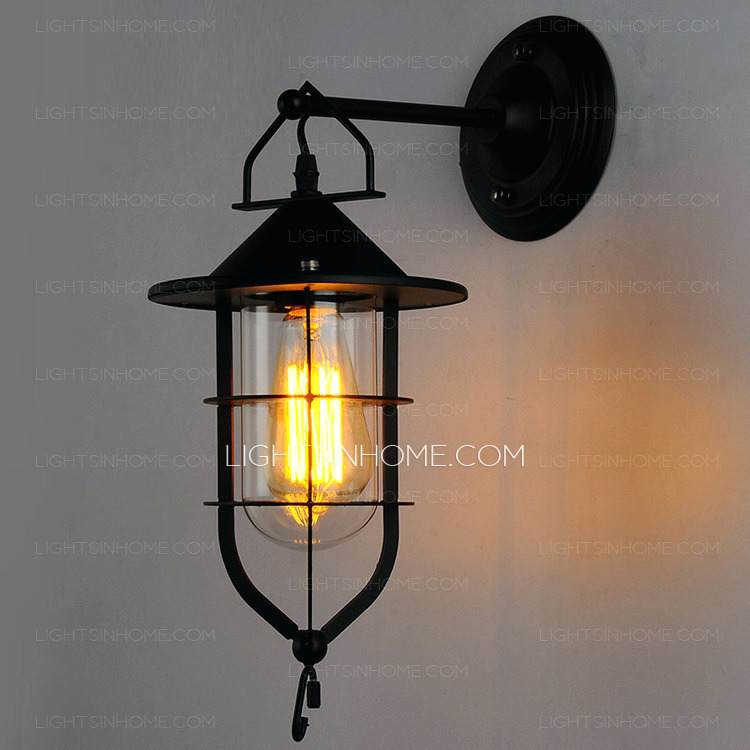 tropical outdoor wall lighting photo - 8