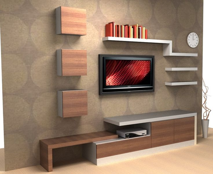 tv unit design ideas photo - 2