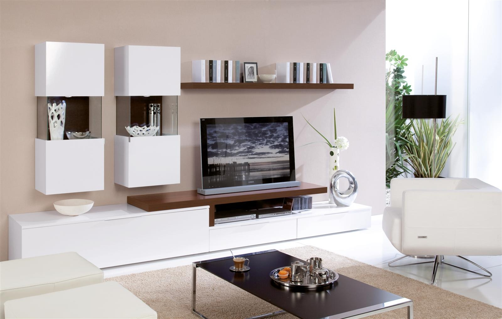 tv unit design ideas photo - 3
