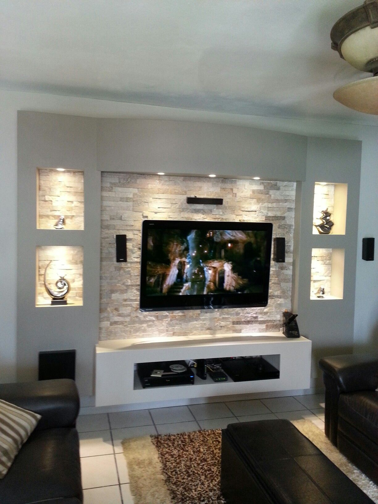 tv unit design ideas photo - 5
