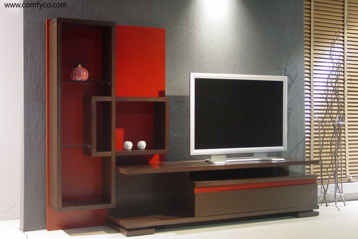 tv unit design ideas photo - 7