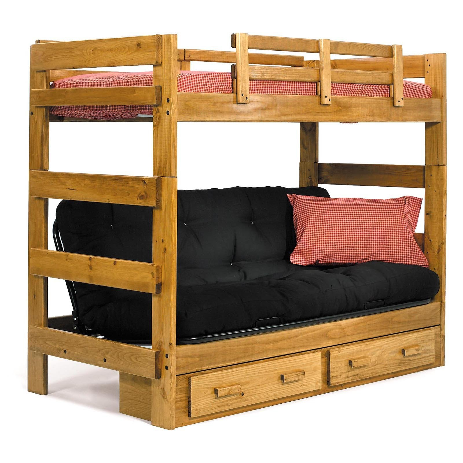 twin low loft beds for kids photo - 10