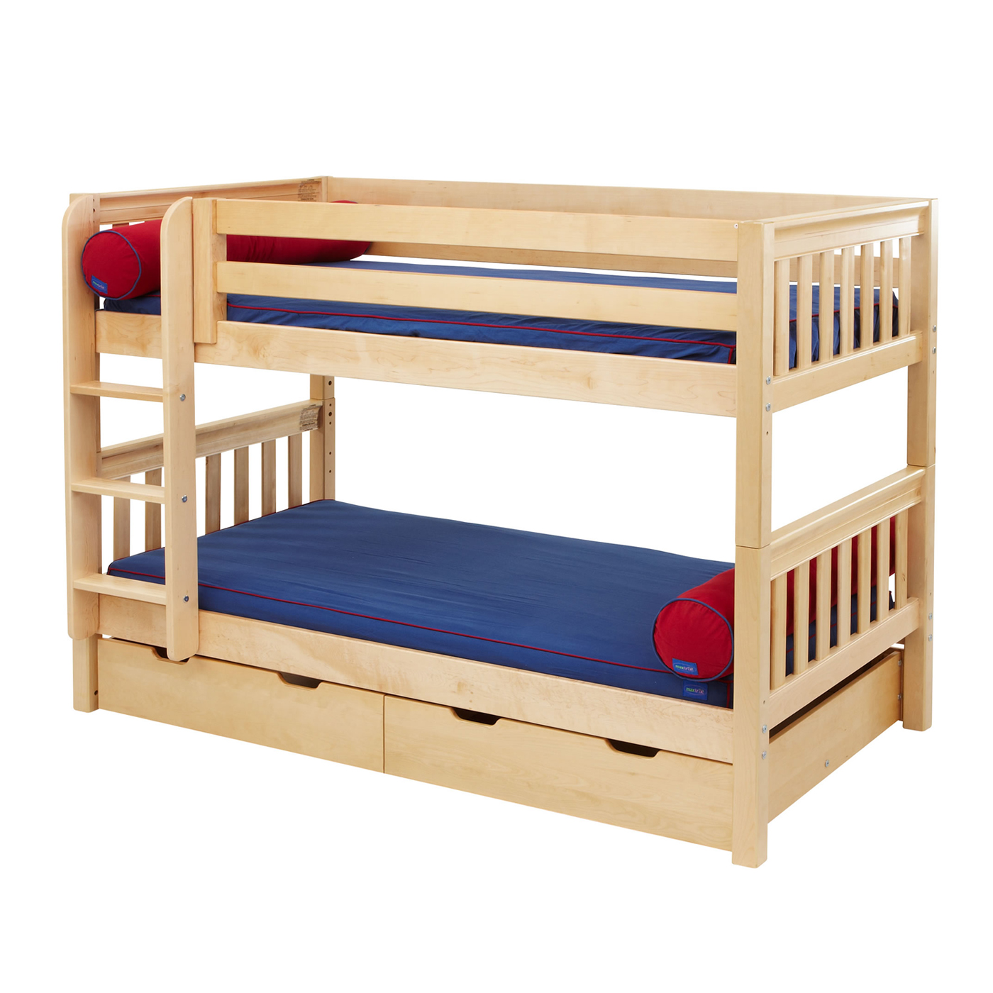 twin low loft beds for kids photo - 4