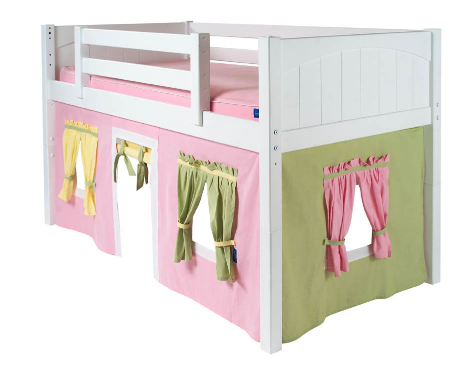 twin low loft beds for kids photo - 9