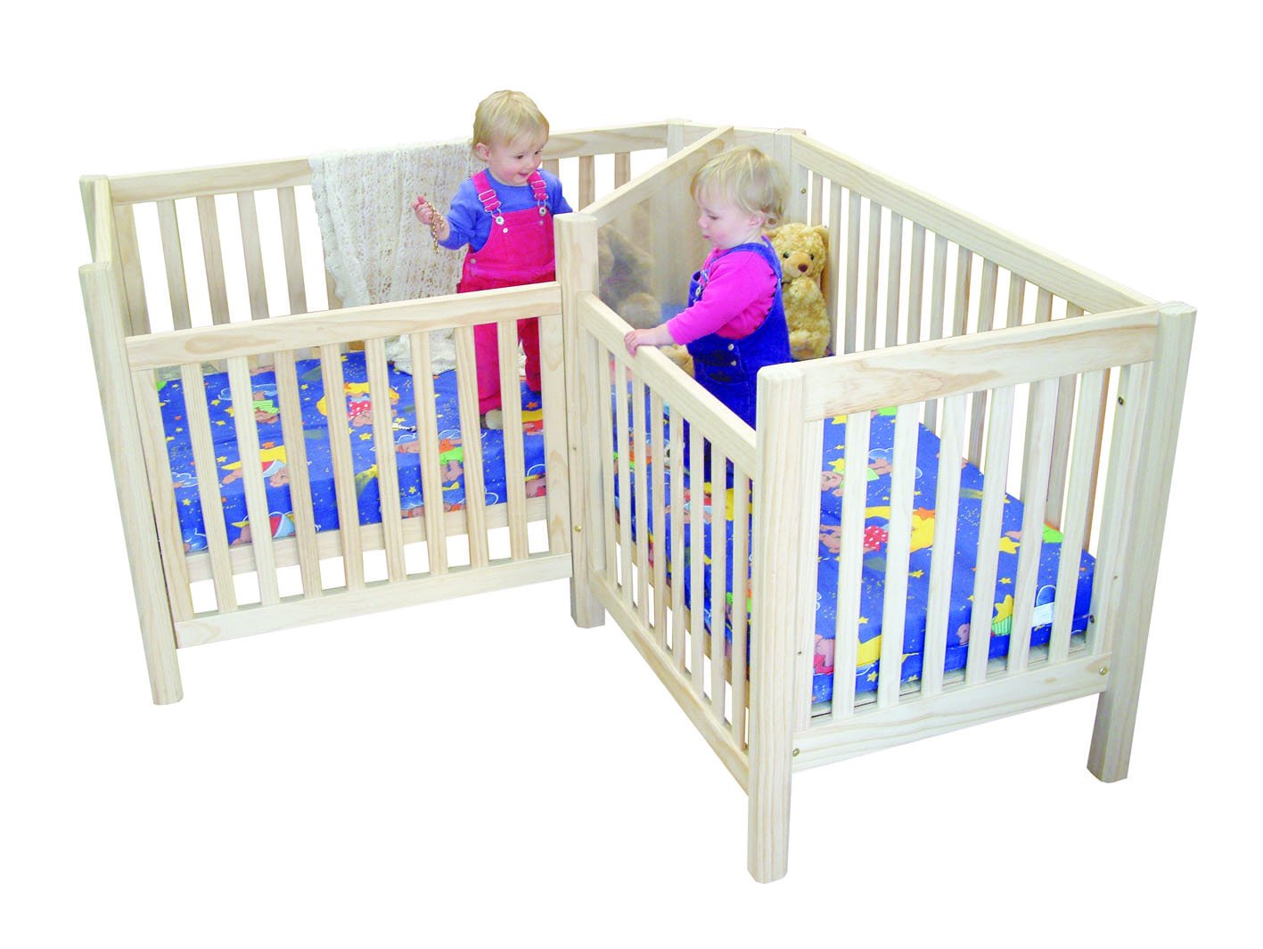 twin nursery furniture photo - 6