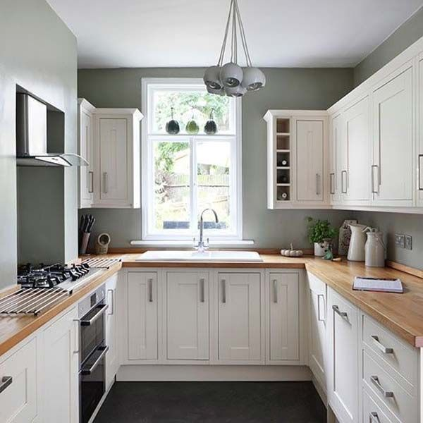 u shaped kitchen plans photo - 10