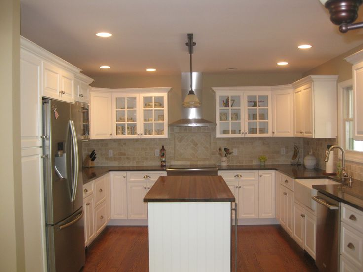 u shaped kitchen plans photo - 4