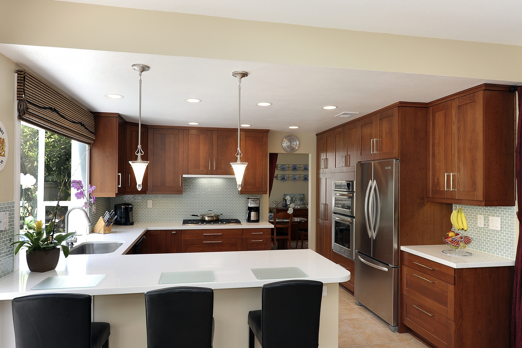 u shaped kitchen plans photo - 7