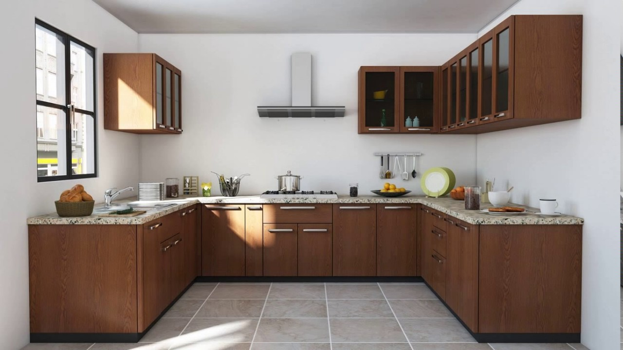 u shaped kitchen style photo - 2