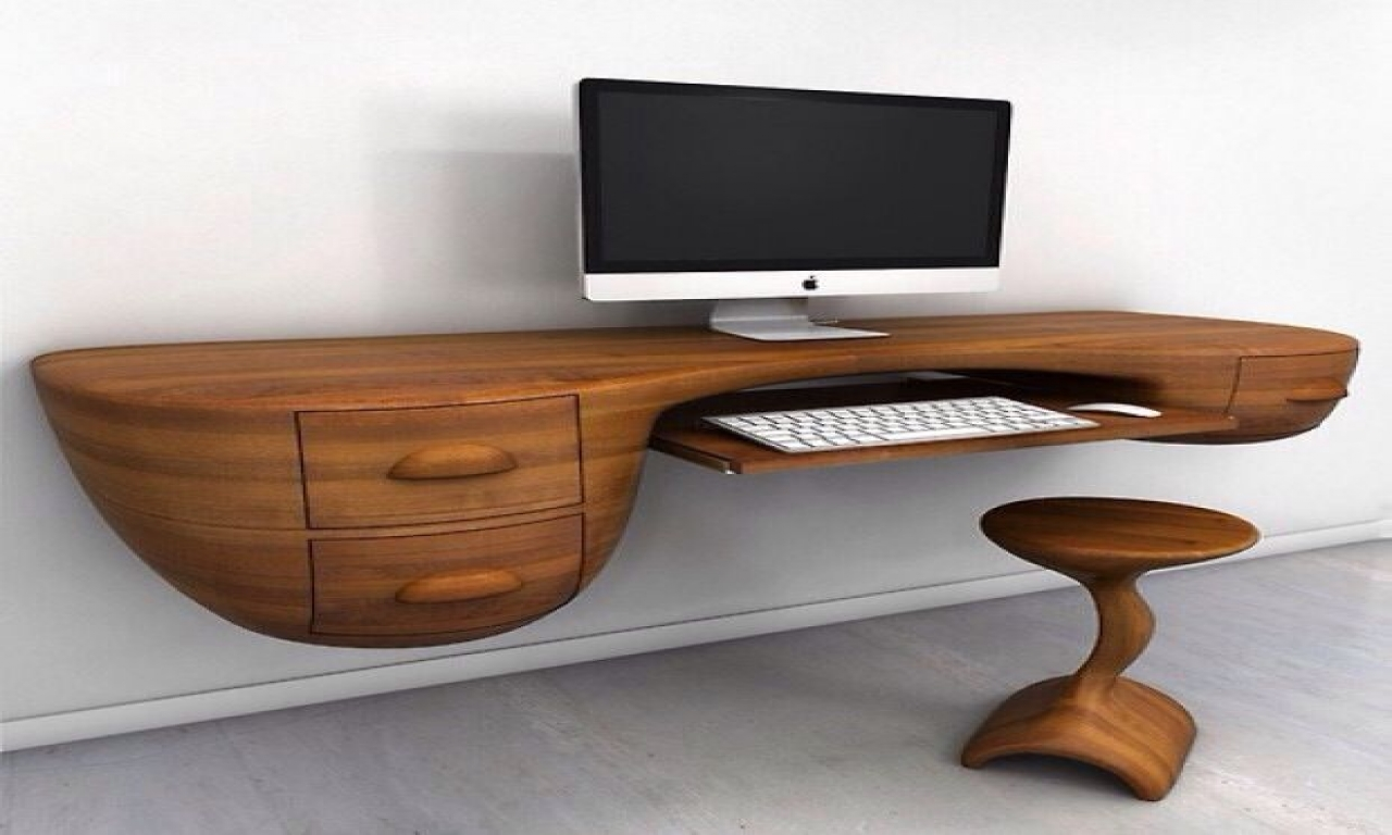unique office desk ideas photo - 1