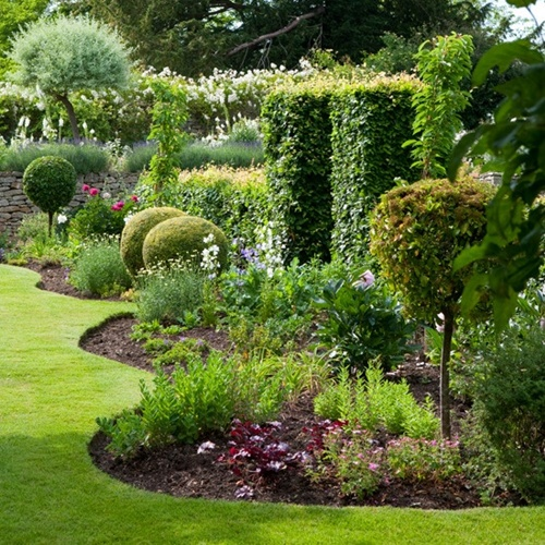 vegetable garden borders photo - 9