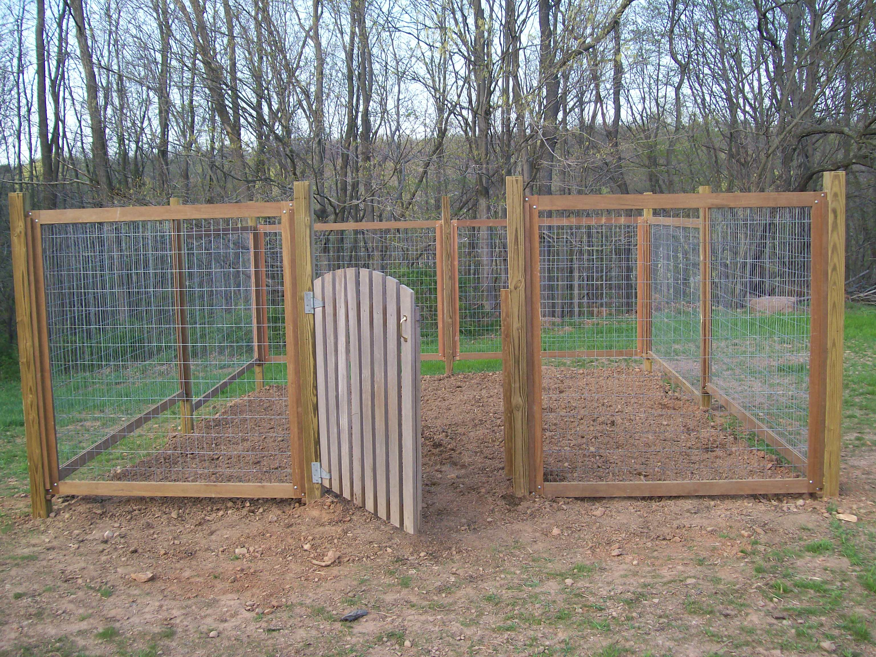 vegetable garden fence panels photo - 1