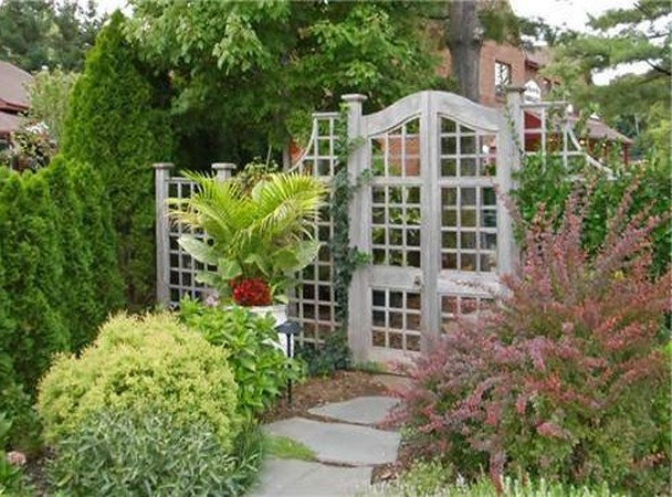 vegetable garden fence panels photo - 9