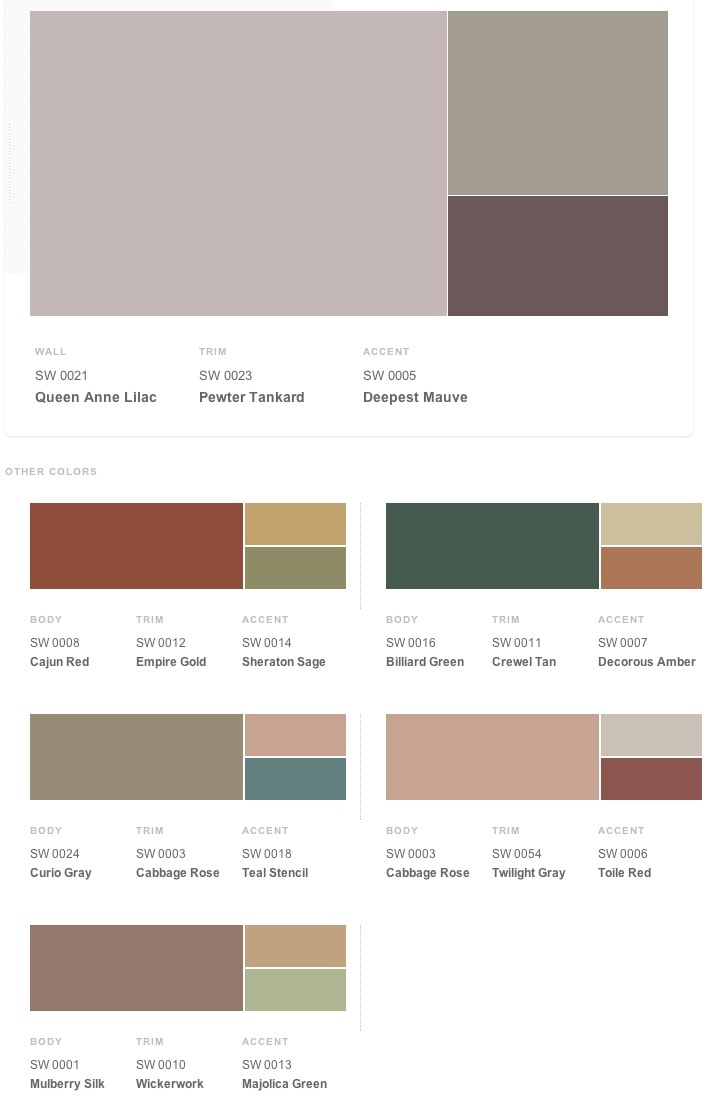 victorian wall paint colors photo - 10