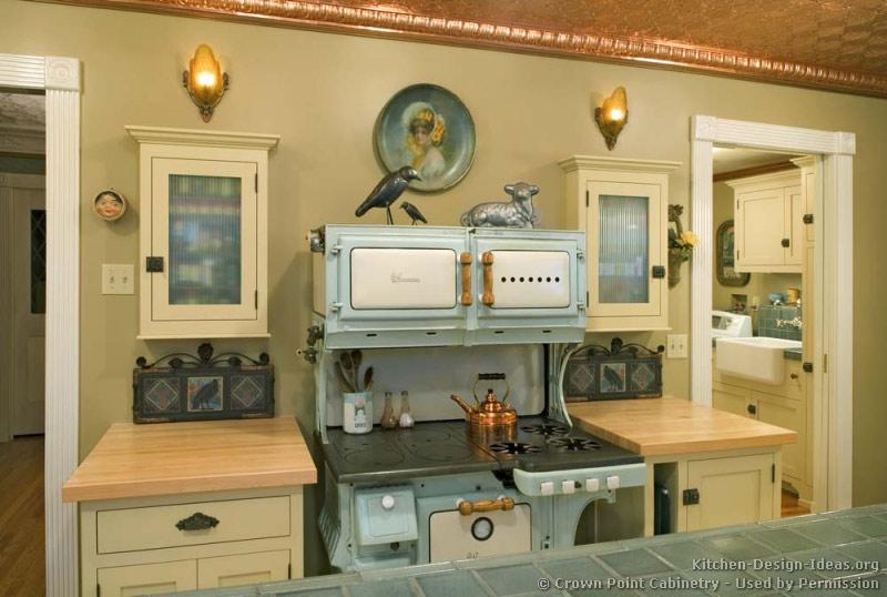 vintage kitchen cabinets ideas photo - 2