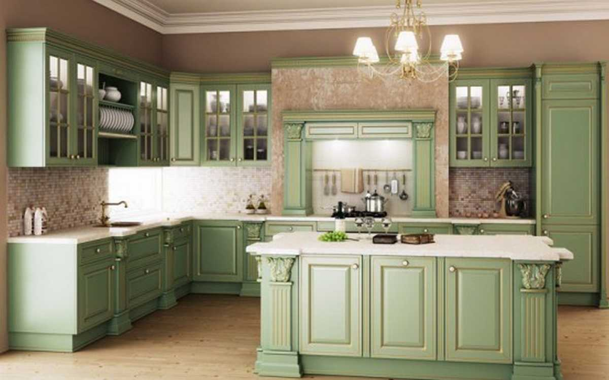 vintage kitchen cabinets ideas photo - 5