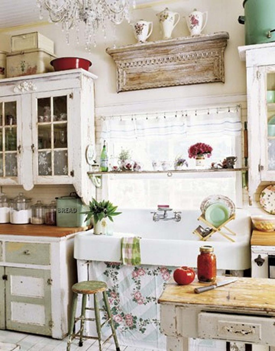 vintage kitchen cabinets ideas photo - 8