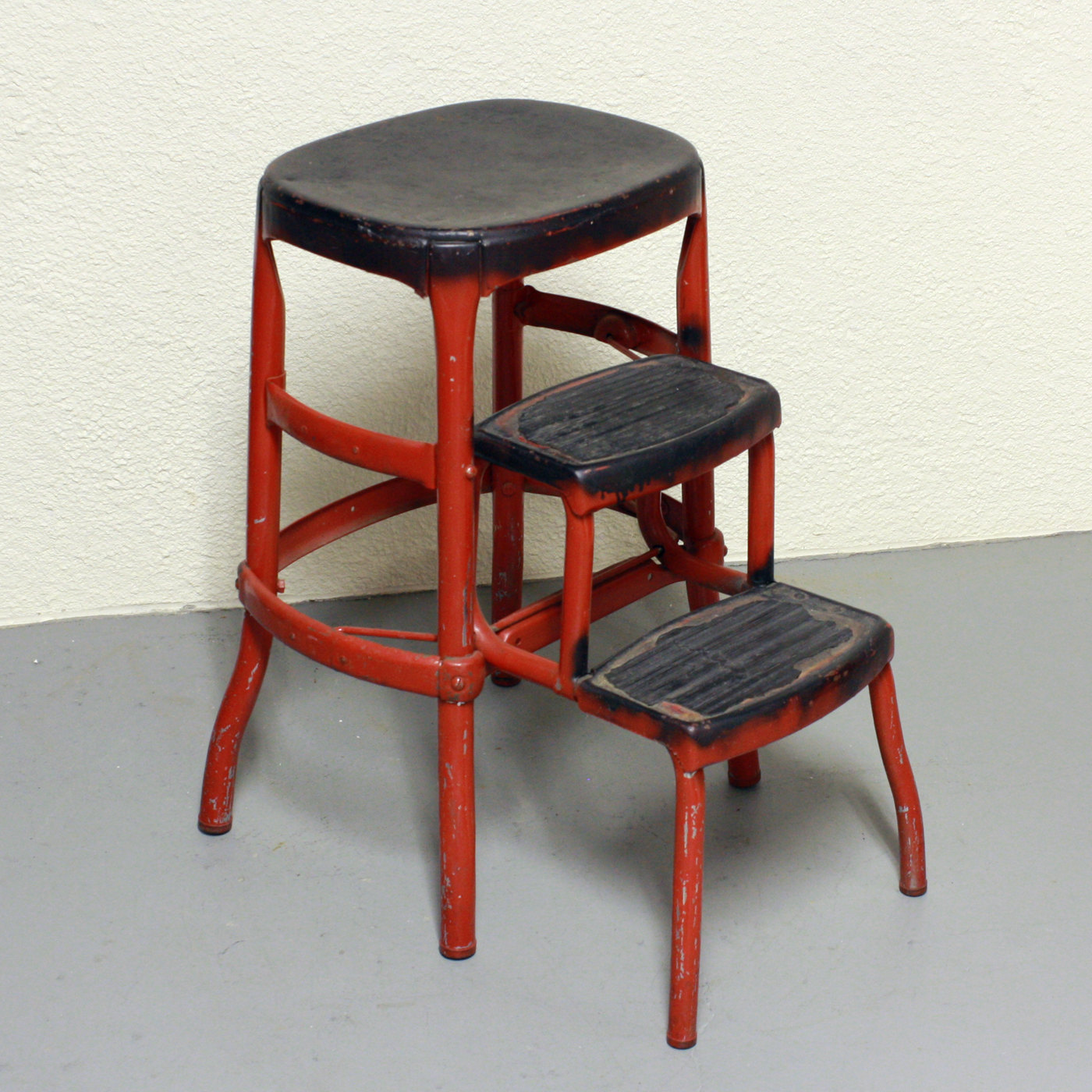 vintage kitchen chair with steps photo - 8