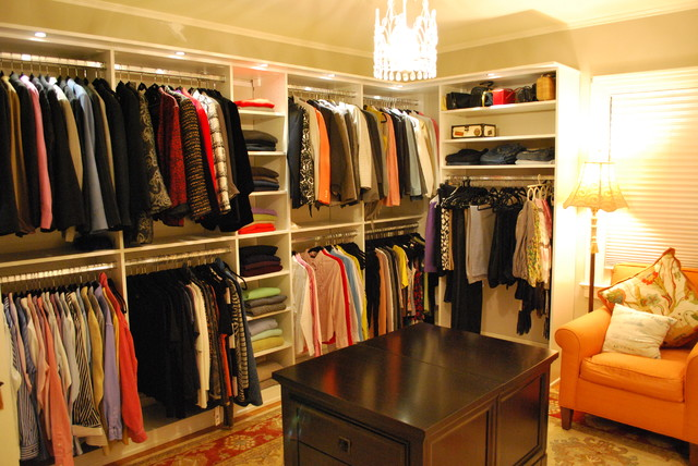 walk in closet design for women photo - 1