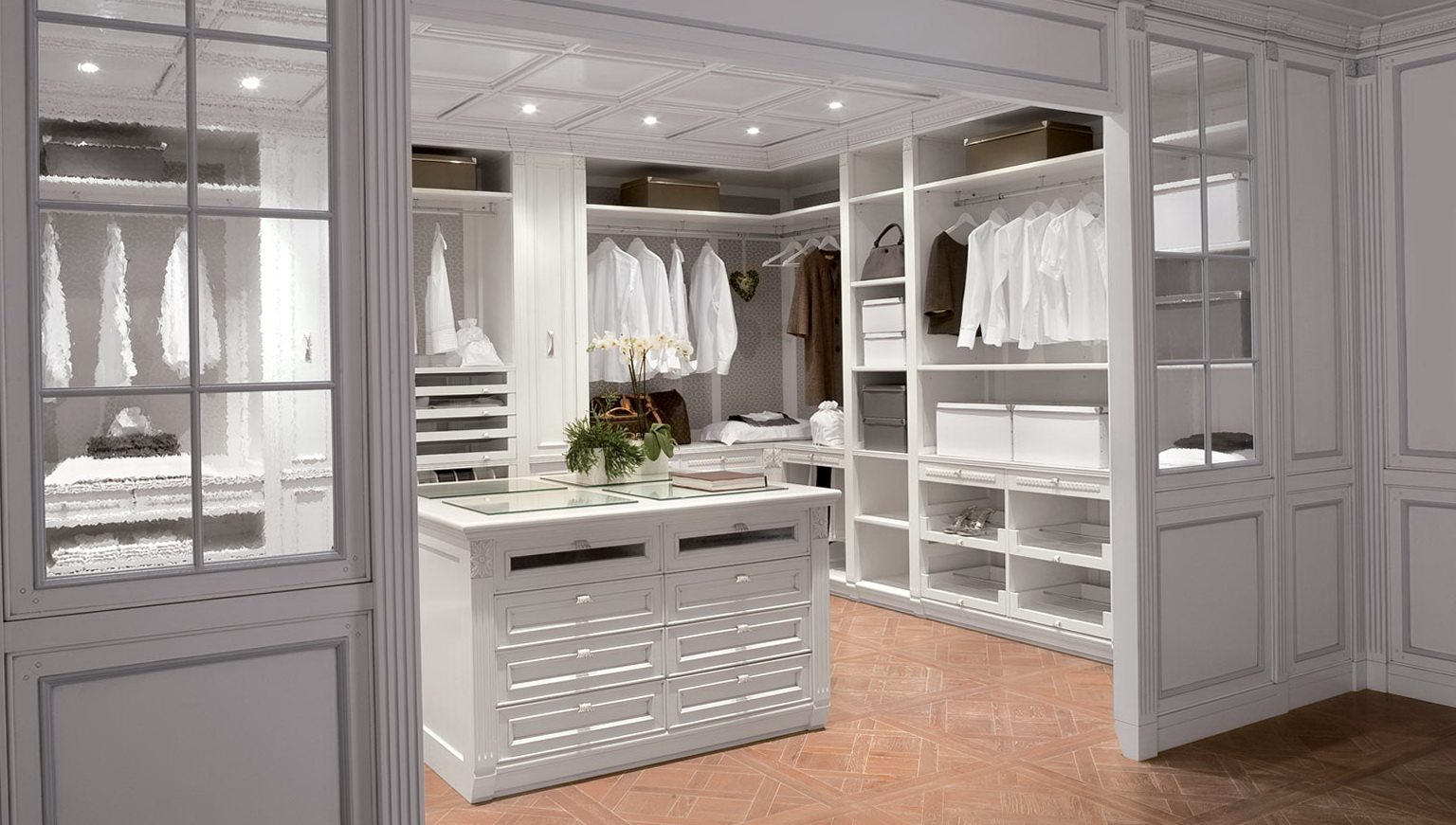 walk in closet designs for a master bedroom photo - 7