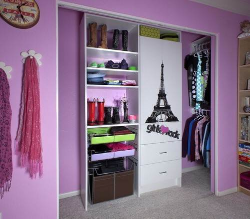 walk in closet designs for teenagers photo - 2