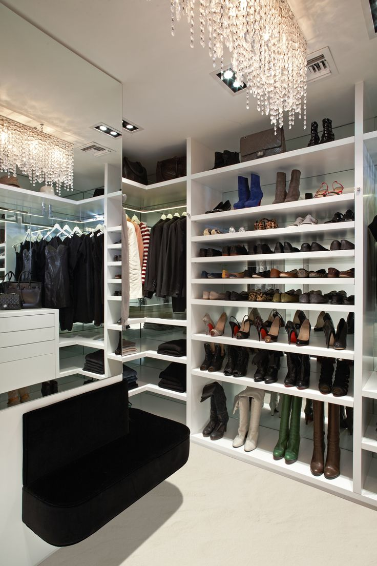 walk-in closet lighting design photo - 6