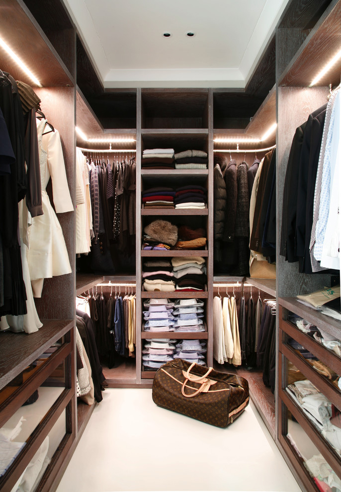 walk-in closet lighting design photo - 7