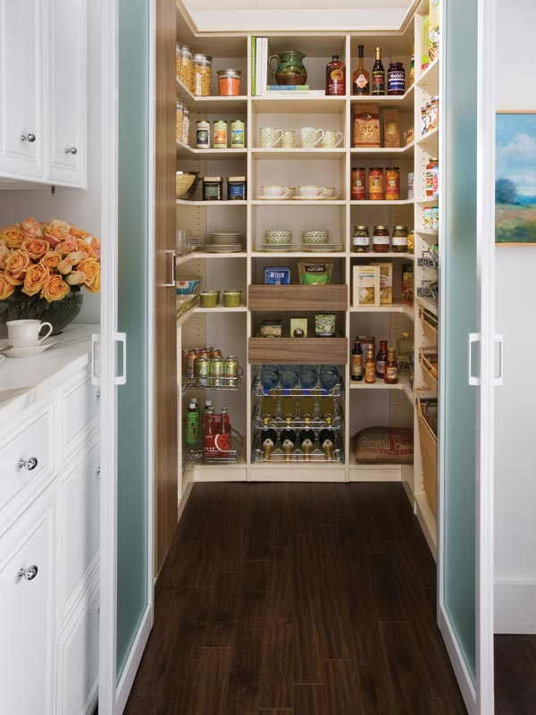 walk in pantry shelving systems photo - 10