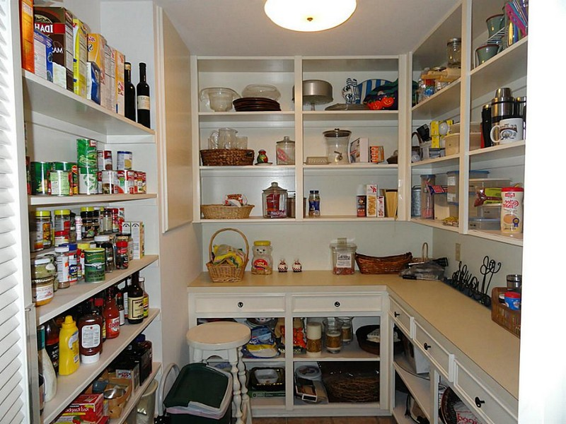 walk in pantry shelving systems photo - 3