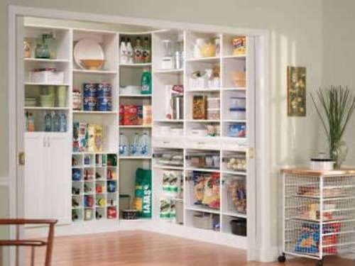 walk in pantry shelving systems photo - 4